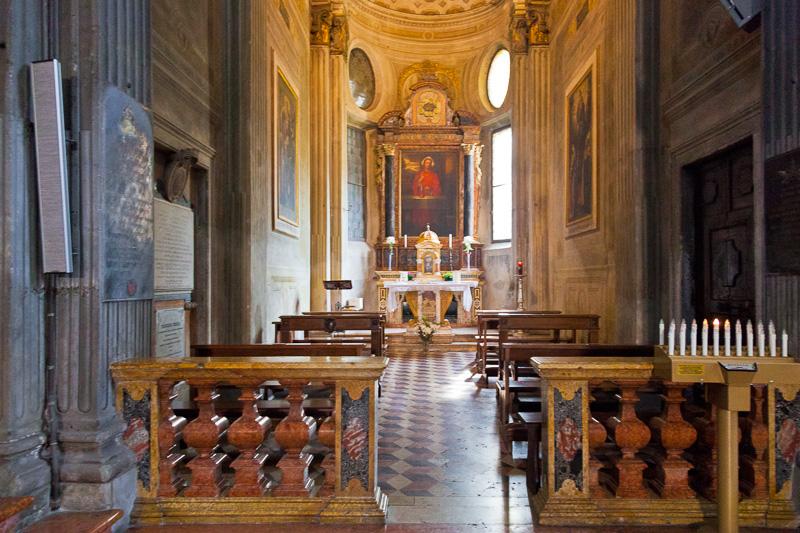 Cappella nella chiesa di San Giovanni Evangelista