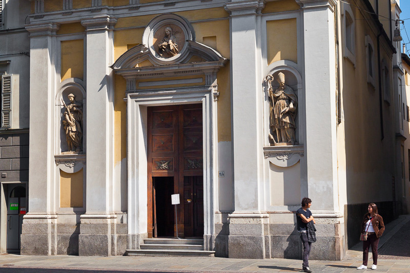 La chiesa di Santa Lucia