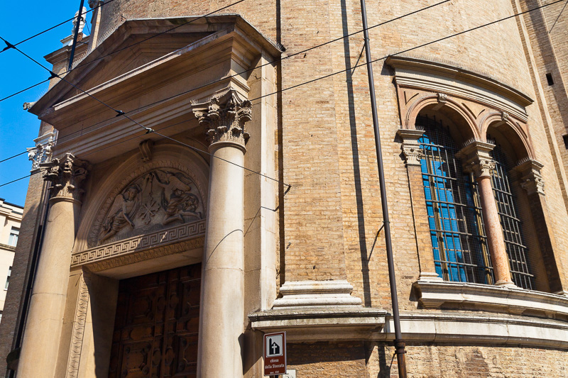 La chiesa della Madonna della Steccata