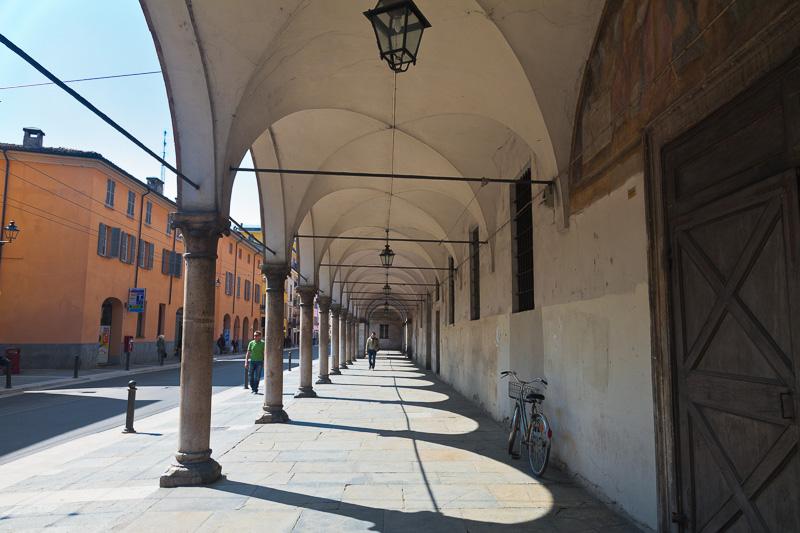Il portico dell'ospedale Vecchio