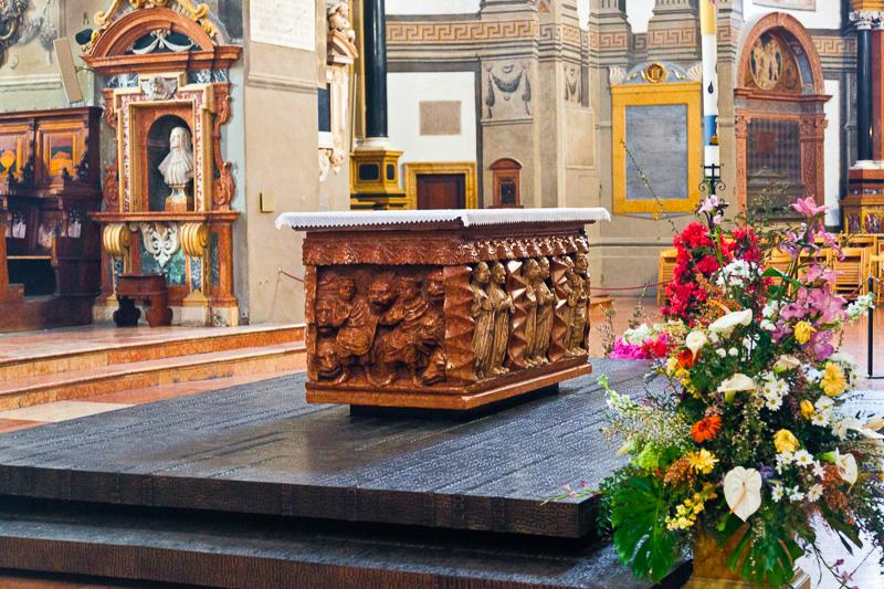 L'altare della cattedrale