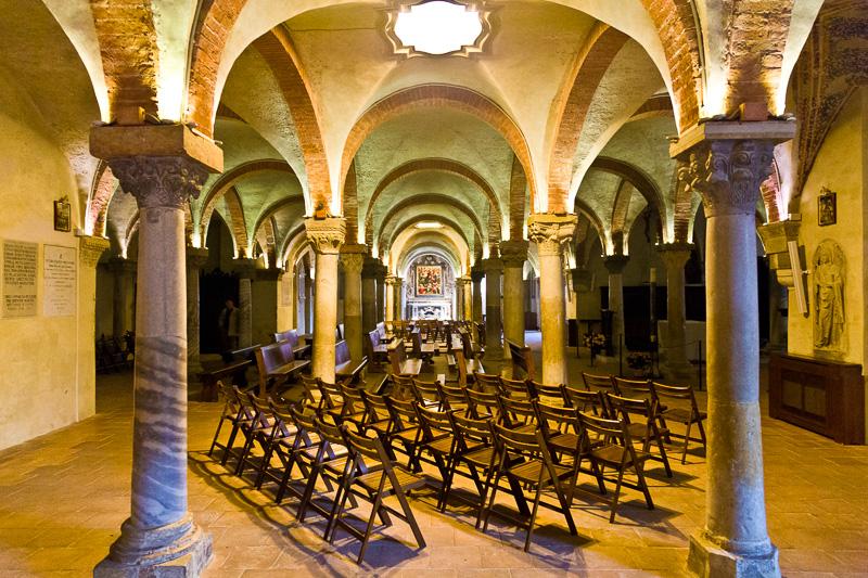 La cripta del Duomo