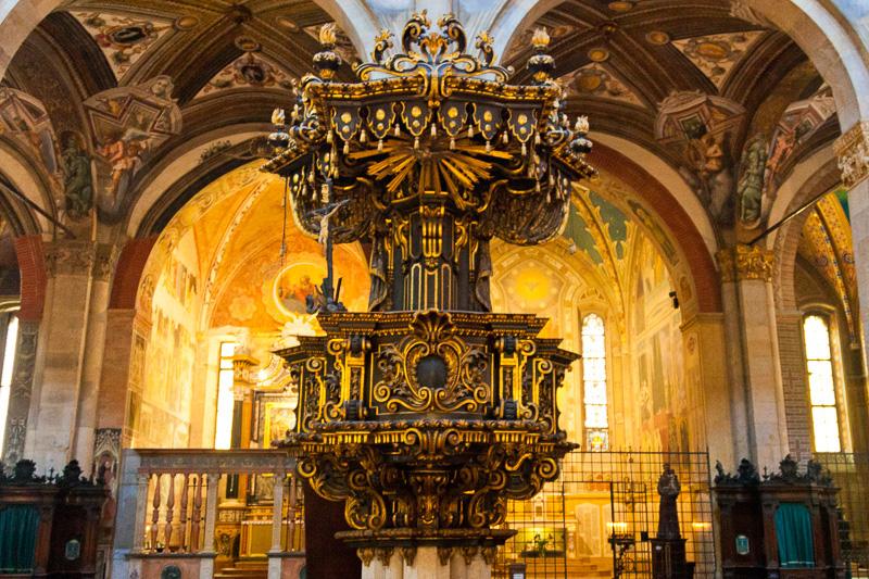 Il pulpito della cattedrale