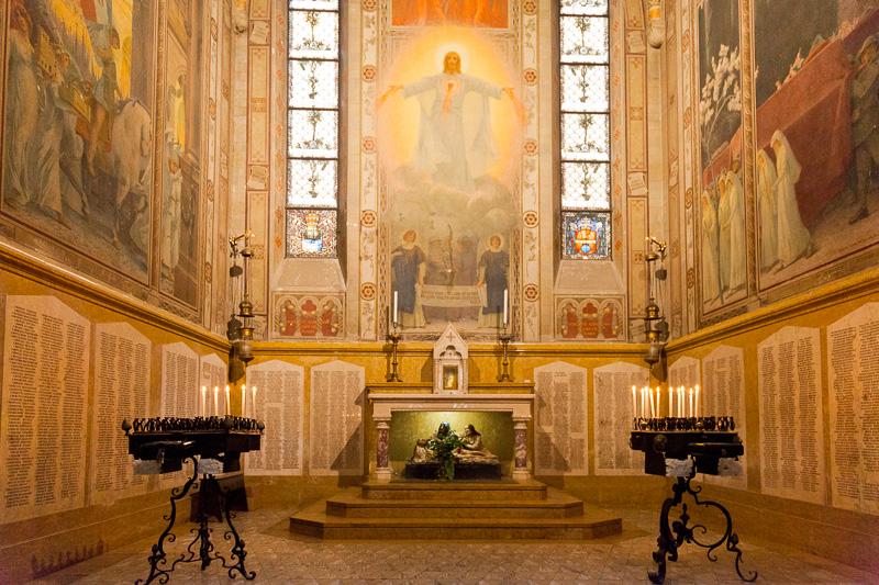 La cappella di San Severo o del Crocifisso