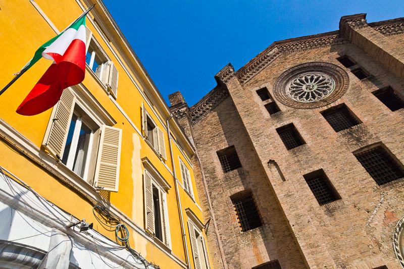La chiesa di San Francesco del Prato
