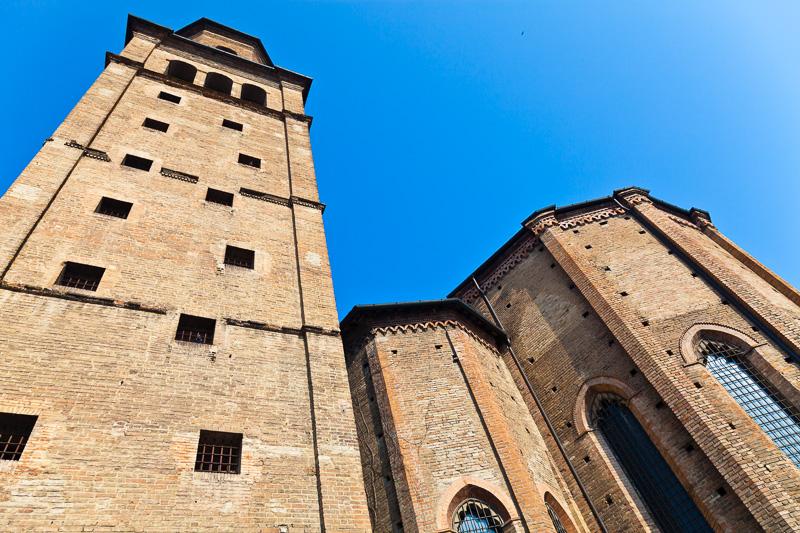 L'abside della chiesa di San Francesco del Prato