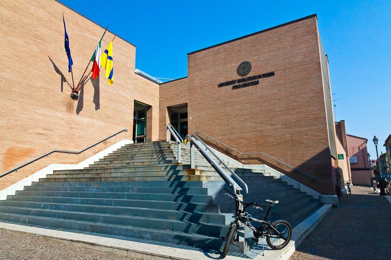 Il polo didattico dell'Università degli Studi di Parma