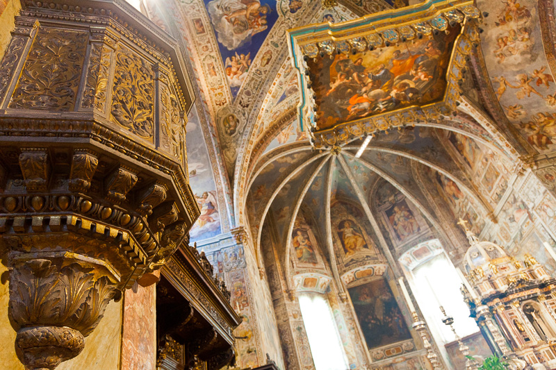 Il pulpito della basilica di San Pietro