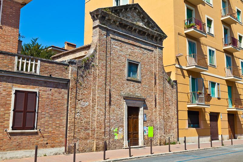La chiesa della Madonna di Braccio