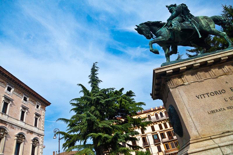 Il monumento a Vittorio Emanuele II