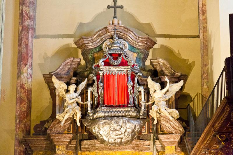 Reliquiario del Santo Anello nuziale della Vergine