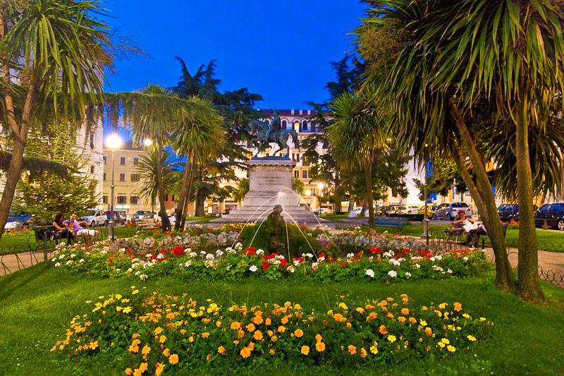 I giardini di piazza Italia