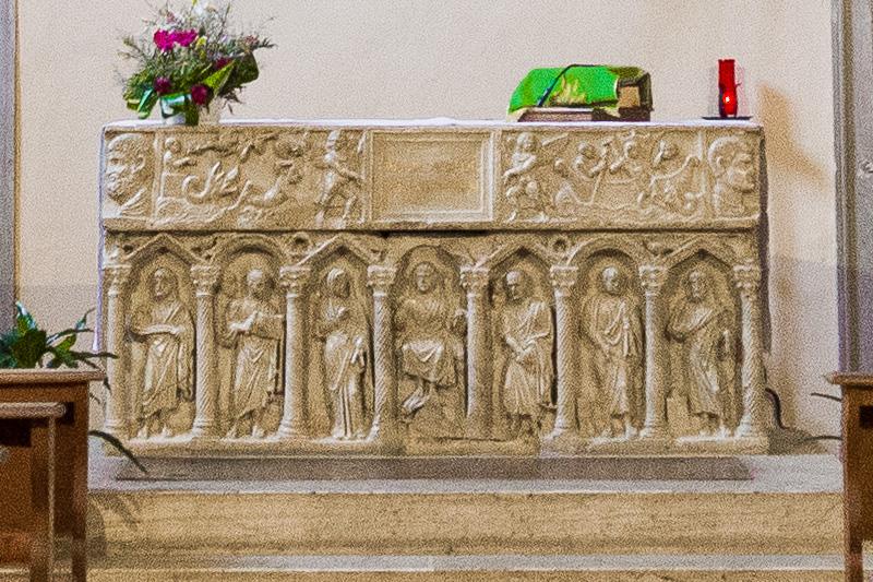 Sarcofago paleocristiano del IV sec.