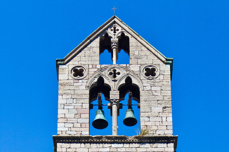 Il campanile della chiesa di San Matteo in Campo d'Orto