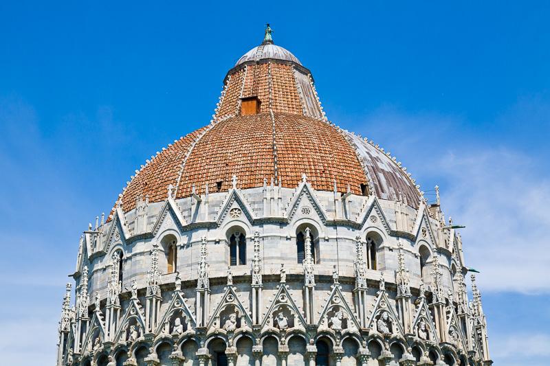 La cupola del Battistero
