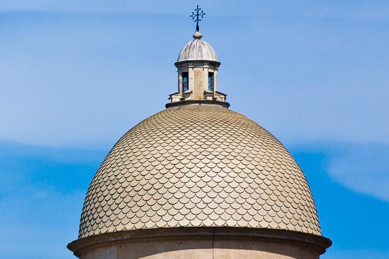 La cupola della cappella Dal Pozzo