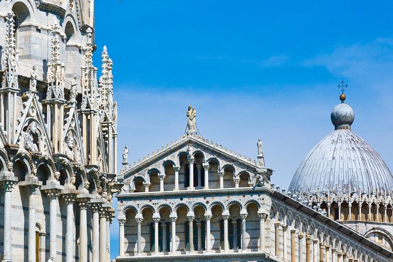 Il Battistero e il Duomo
