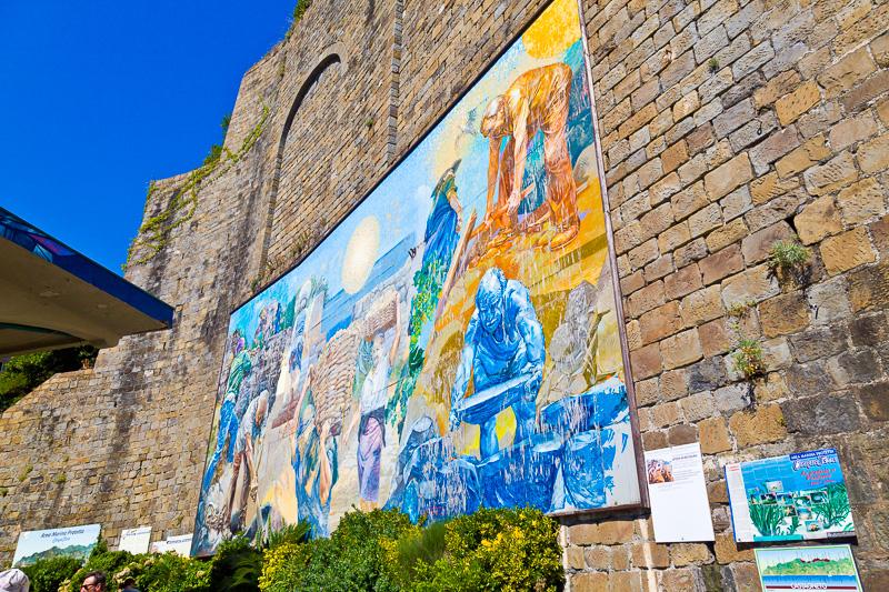 Murales di Silvio Benedetto