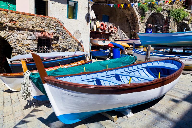 Il gozzo (barca) azzurro