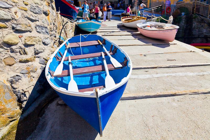 Gozzetti (barche) colorati