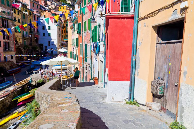 La via terrazza San Giacomo