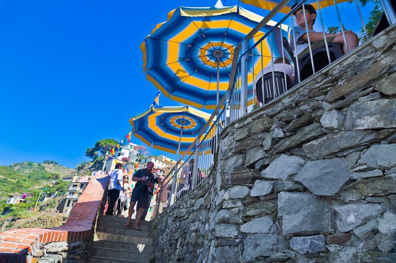 La piccola scalinata di via San Giacomo