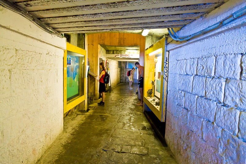 La galleria di via San Giacomo