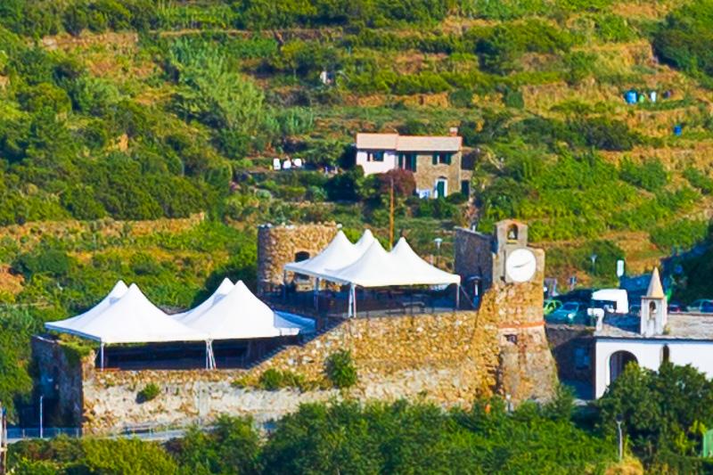 Il castello sul monte Cerricò