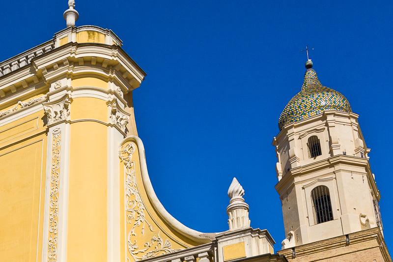 Il campanile della cattedrale di Santa Maria Assunta