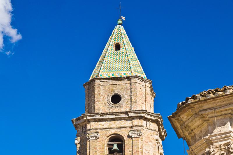 Il campanile della chiesa di San Severino Abate