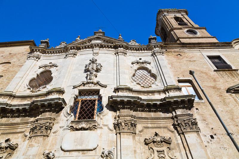 La chiesa di San Lorenzo delle Benedettine