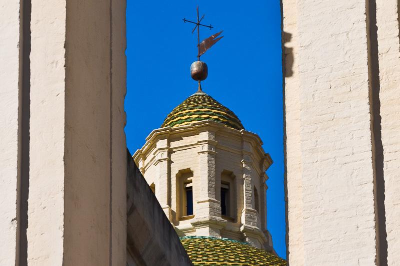 La lanterna della cupola della chiesa di Santa Maria del Carmine