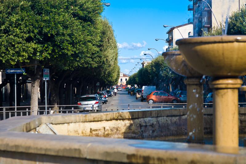 La fontana di piazza Incoronazione