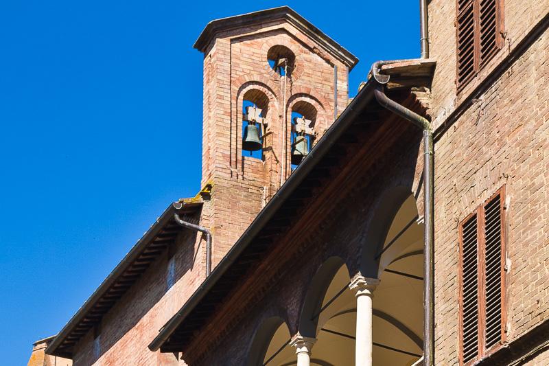 Il campaniledel santuario di Santa Caterina