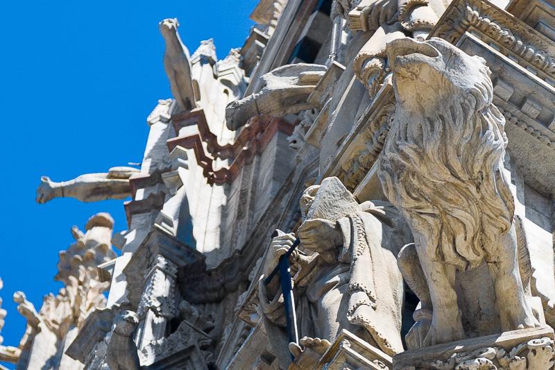 Le decorazioni gotiche del Duomo