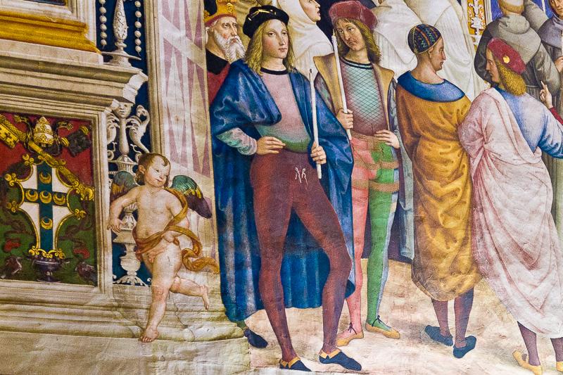 Affresco del Pinturicchio