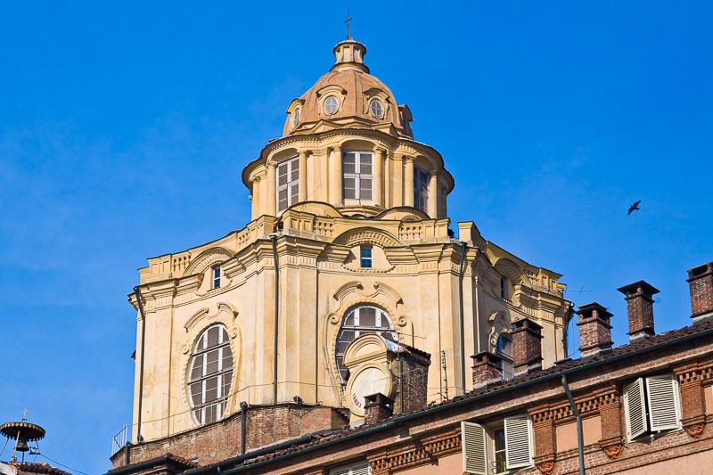 La cupola della chiesa di San Lorenzo