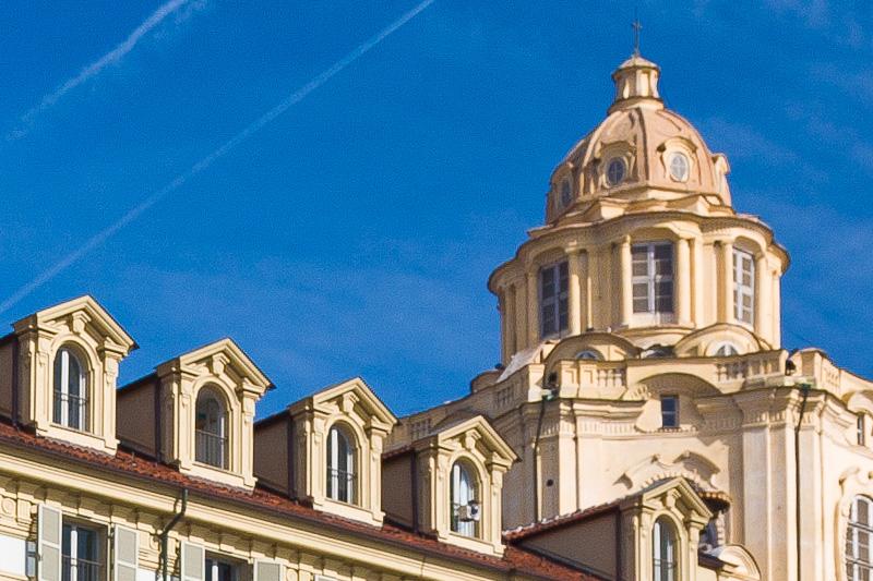 La cupola della Real chiesa di San Lorenzo