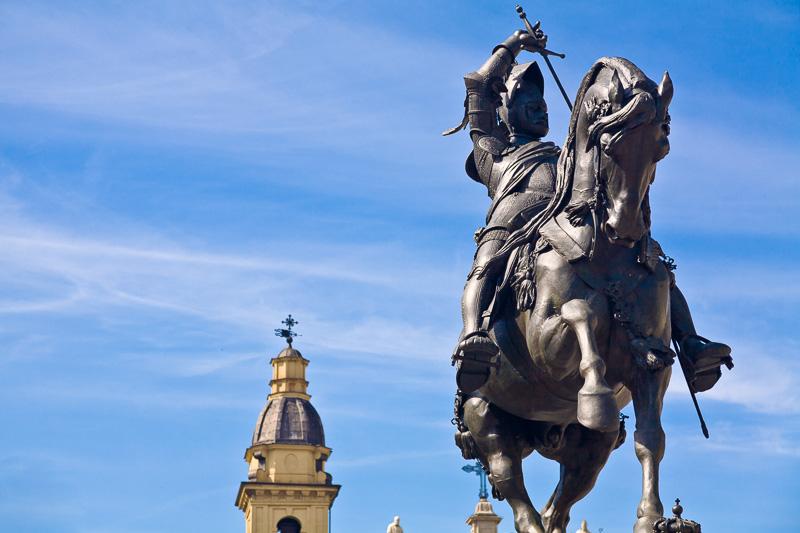 Il monumento equestre ad Emanuele Filiberto