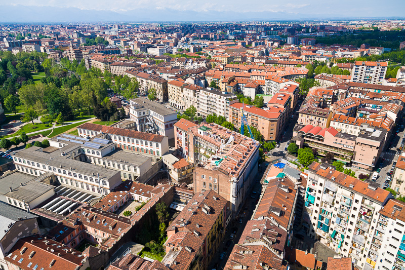 Panorama della città di Torino