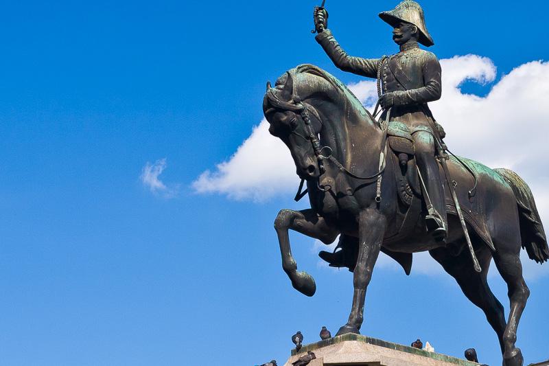 l monumento equestre dedicato a Re di Sardegna Carlo Alberto di Savoia