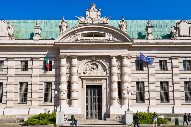 La Biblioteca Nazionale Universitaria