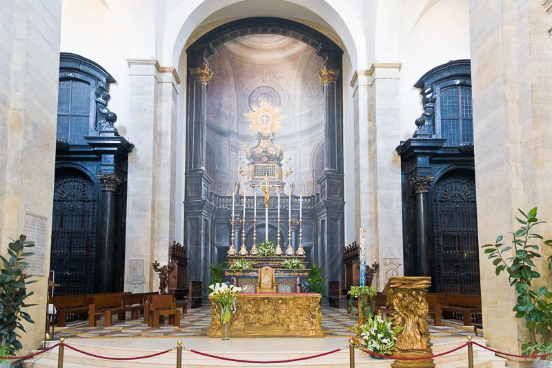 Il presbiterio del Duomo