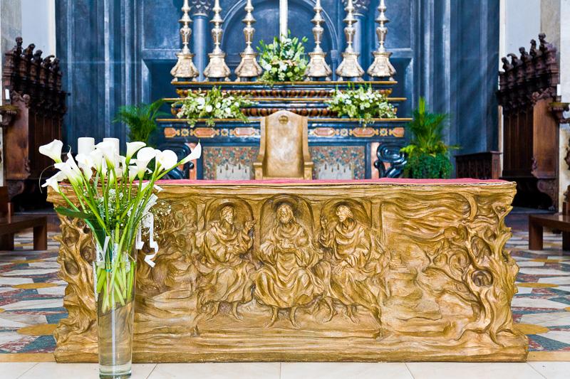 Altare maggiore del Duomo