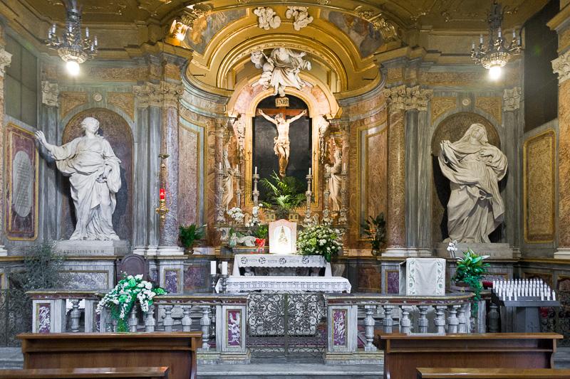 La cappella del Crocifisso del Duomo