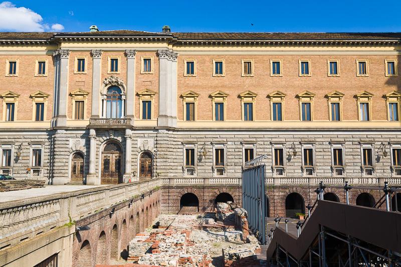 """La """"Manica Nuova"""" del Palazzo Reale"""