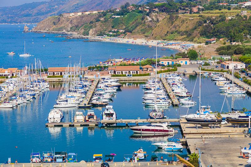 Il bacino turistico del porto