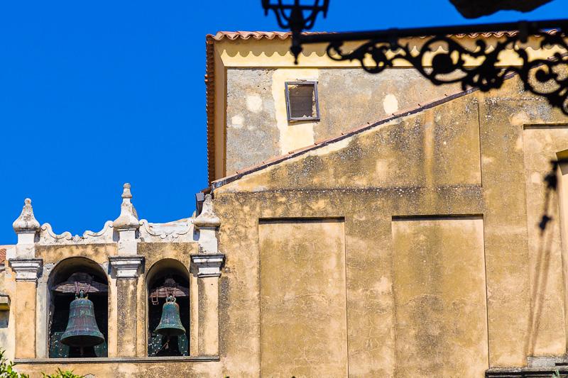 Il campanile della chiesa del Gesù