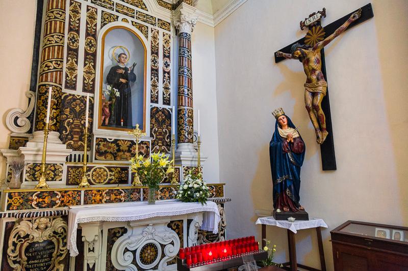 La cappella di San Gerardo nella chiesa del Gesù