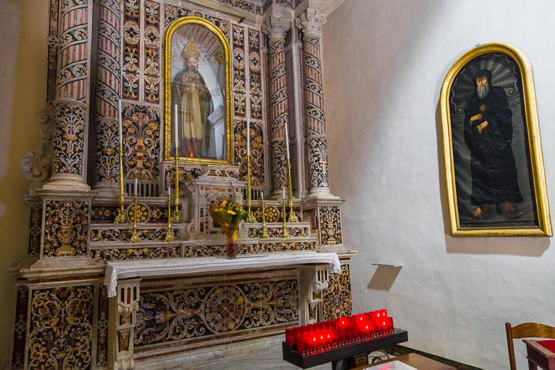La cappella di Sant'Alfonso nella chiesa del Gesù